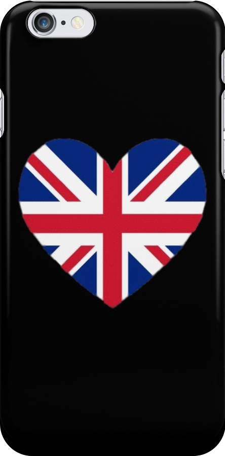 Union Jack Heart by Shannon Surwillo