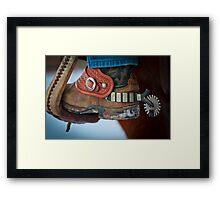 Cowboy Spurs Framed Print