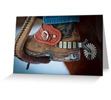 Cowboy Spurs Greeting Card