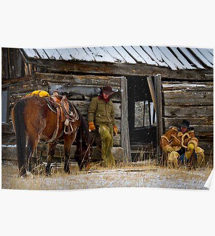 Cowboys on Break Poster