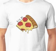 Bite Me - Pizza Unisex T-Shirt
