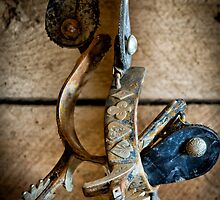 Spurs on Wall by Inge Johnsson