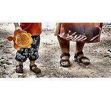 Labor~day feet Photographic Print
