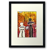 My Angelic Sistah and I are FREE to DREAM Framed Print