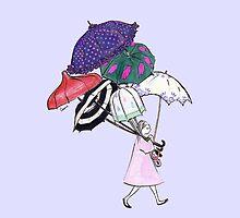 Bristol Umbrellas by canimate