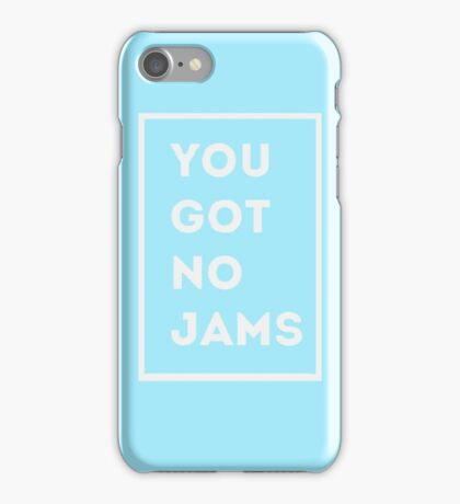 BTS/Bangtan Sonyeondan - You Got No Jams (Blue) iPhone Case/Skin