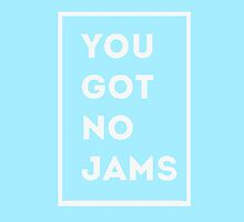 BTS/Bangtan Sonyeondan - You Got No Jams (Blue) by skiesofaurora