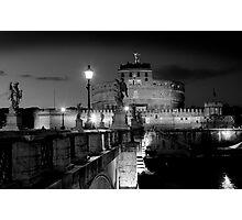 Castle St Angelo Rome Photographic Print