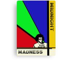 Midnight Madness minimalist movie poster Canvas Print