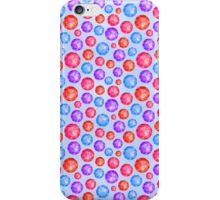 Pink Blue Diamonds iPhone Case/Skin