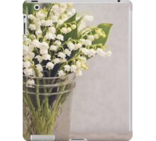Lily of the Valley in a jar. iPad Case/Skin