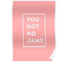 BTS/Bangtan Sonyeondan - You Got No Jams (Pink) Poster