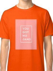 BTS/Bangtan Sonyeondan - You Got No Jams (Pink) Classic T-Shirt