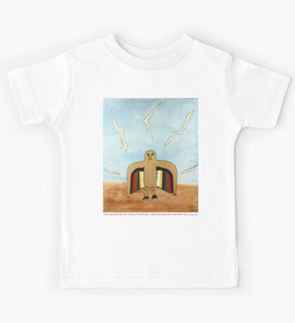 Dancing Robot Bird T Shirt Kids Clothes