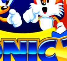 Sonic and Tails sticker Sticker