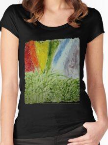 Laurel Genesis Rainbow Women's Fitted Scoop T-Shirt