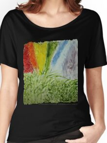 Laurel Genesis Rainbow Women's Relaxed Fit T-Shirt