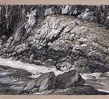 Ivanhoe River by Guennadi Kalinine
