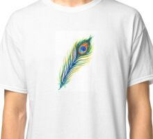 Peacock Feather Classic T-Shirt