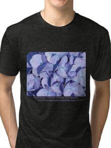 Hydrangea 7015 Tri-blend T-Shirt