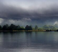Early Morning Clouds along Laguna San Rafael by Laurel Talabere