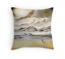 Emotion By The Ocean Throw Pillow