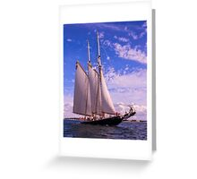 Raising Canvas Greeting Card