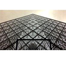 Louvre pyramid Photographic Print