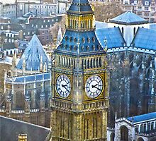BIG BEN [From the london eye] by buddybetsy