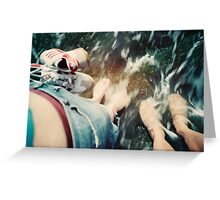 Lomo - Cooling down Greeting Card