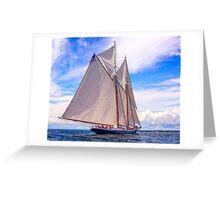 Sailing Beauty Greeting Card