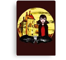 Transylvania Mavis night Canvas Print