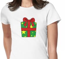Christmas present 1 Womens Fitted T-Shirt