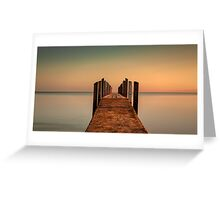 Quindalup Jetty Greeting Card