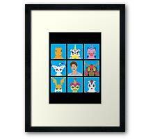 The Digital Bunch  Framed Print