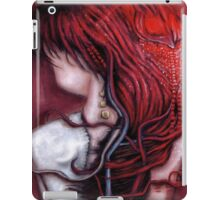 my heart soars like a blood red artifact iPad Case/Skin