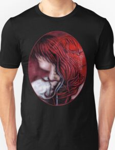 my heart soars like a blood red artifact Unisex T-Shirt