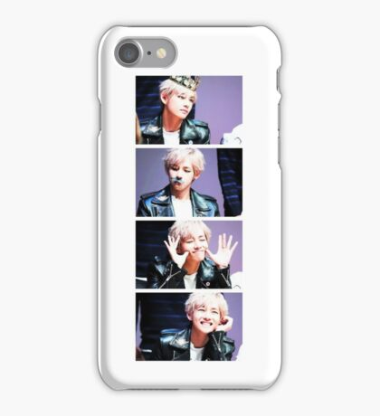BTS/Bangtan Sonyeondan - V Collage iPhone Case/Skin