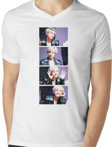 BTS/Bangtan Sonyeondan - V Collage Mens V-Neck T-Shirt