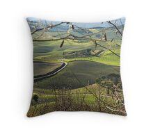 Toscana countryside Throw Pillow