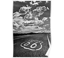 Route 66 Homage to Lee Friedlander Poster