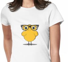 Geek Chic Chick Womens Fitted T-Shirt