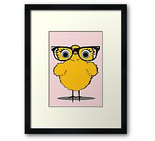 Geek Chic Chick Framed Print