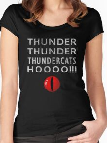 Thundercats Hoooo!!! Women's Fitted Scoop T-Shirt