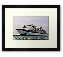 The Celebrity Constellation Framed Print