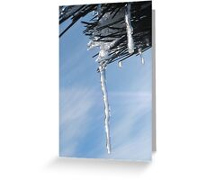 Mother Natures Crystal Greeting Card