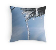 Mother Natures Crystal Throw Pillow