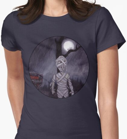 the MUMMY RETURNS Womens Fitted T-Shirt
