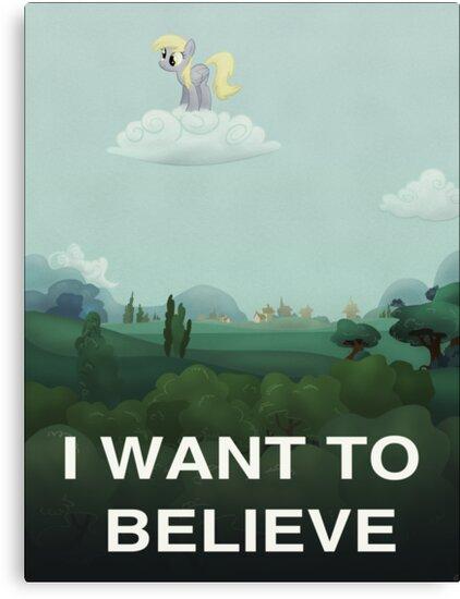 I want to believe by Stinkehund