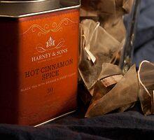 Cinnamon Tea & Tin by sarahmoyer